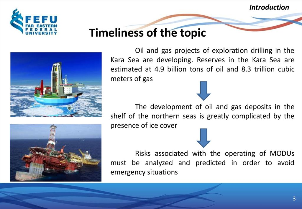 Risk analysis of operation of mobile drilling units in the kara sea