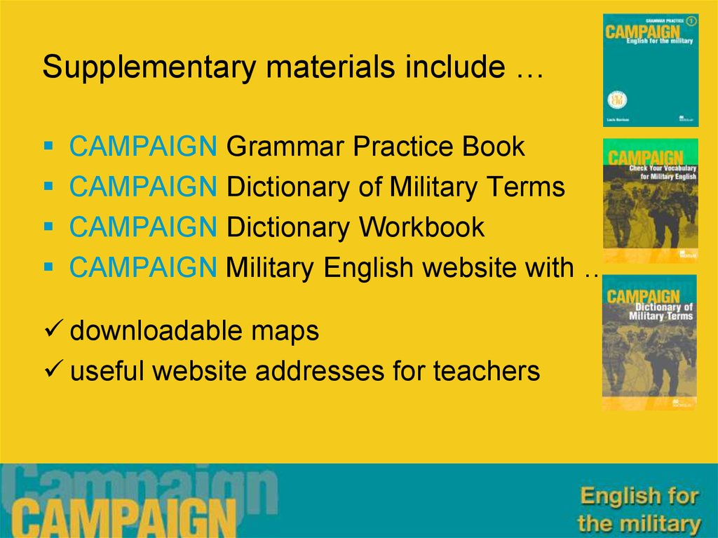 Supplementary materials include …