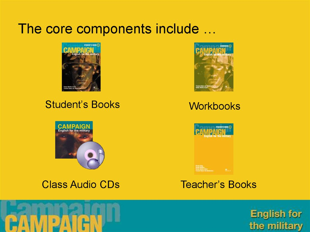 The core components include …