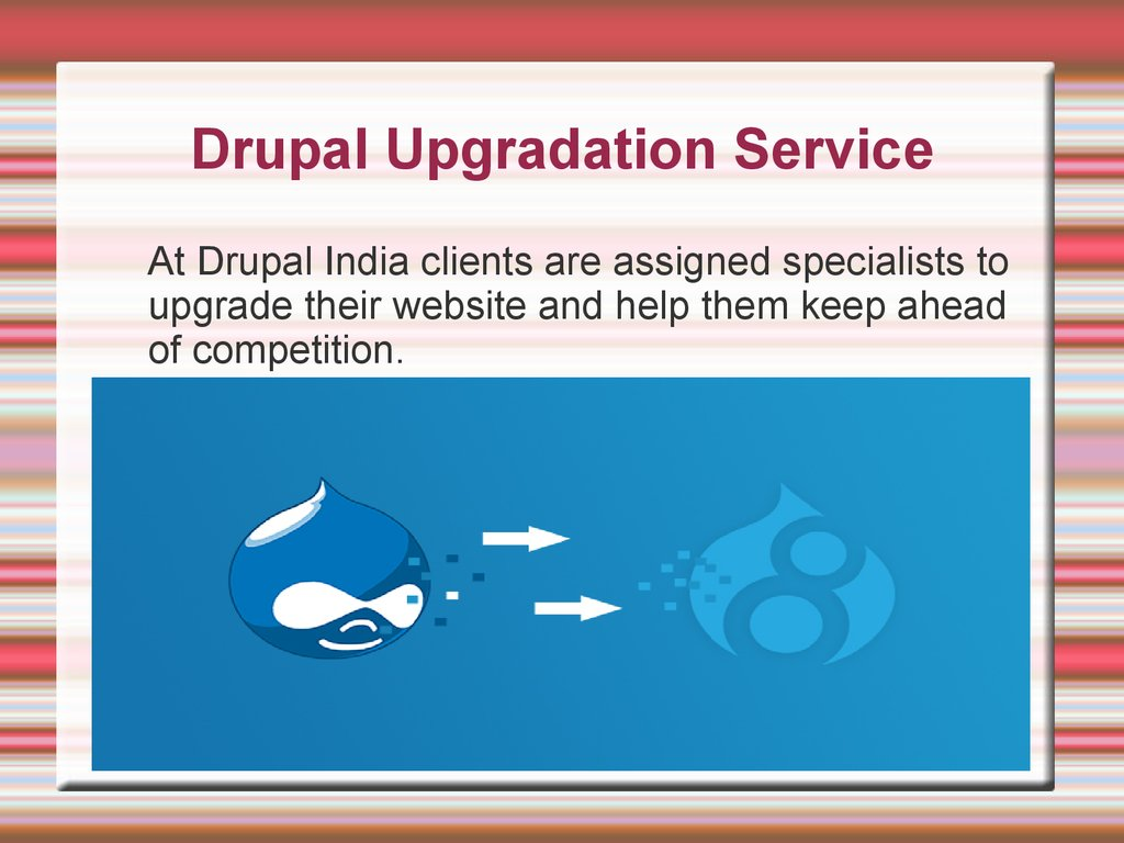 Welcome To Drupal India - online presentation