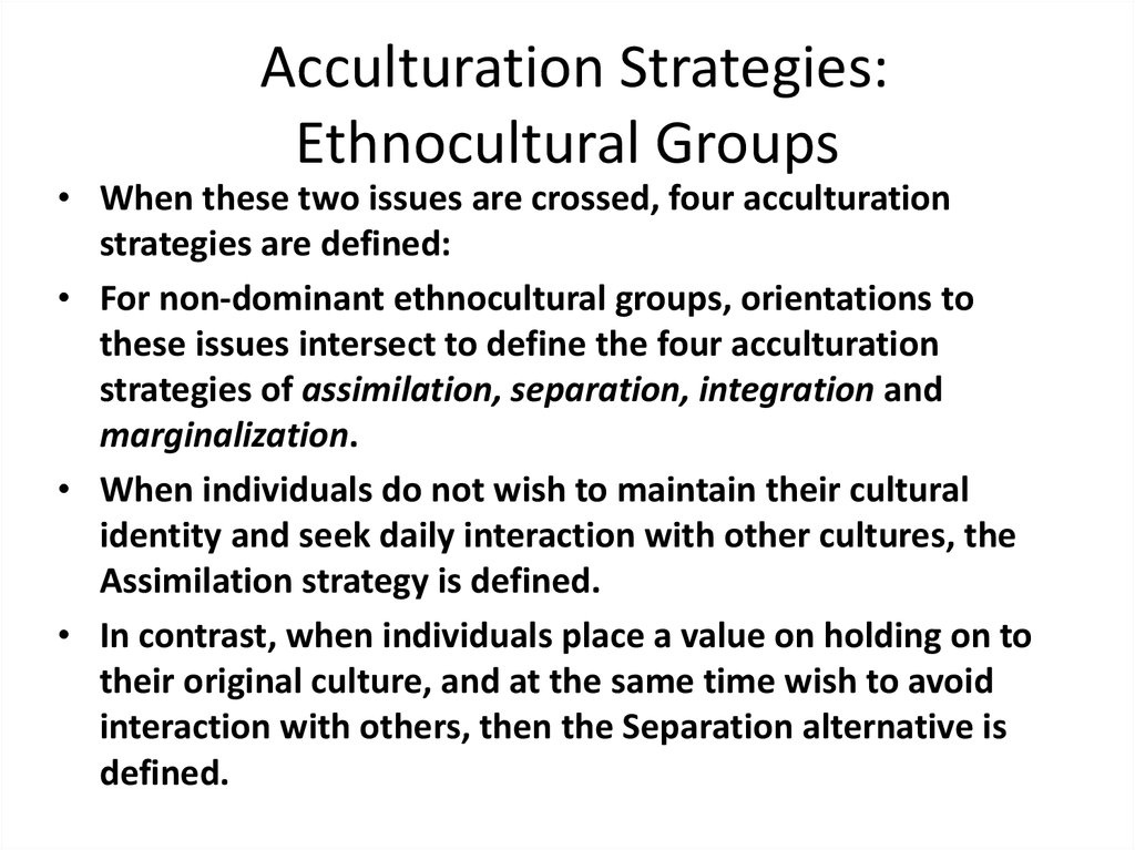acculturation wikipedia