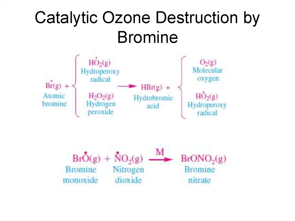 Catalytic Ozone Destruction by Bromine