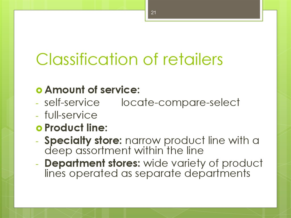 classification of retail operations This class code lookup guide is to be used as an aid in determining the proper classification 7421 aircraft or helicopter operations store retail noc.