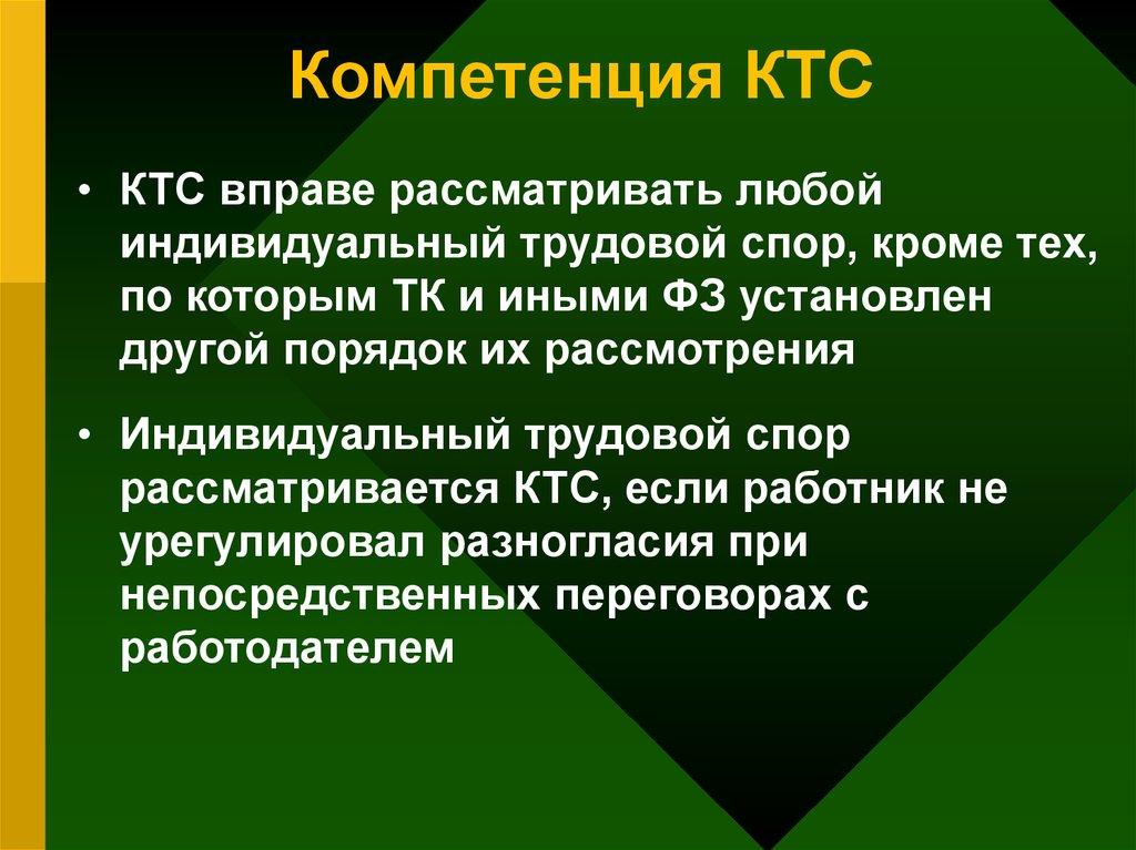 комиссия по трудовым спорам сроки рассмотрения