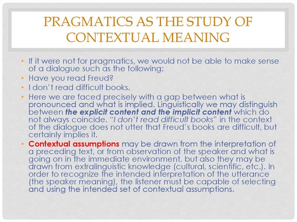 a contrastive pragmatic study of speech