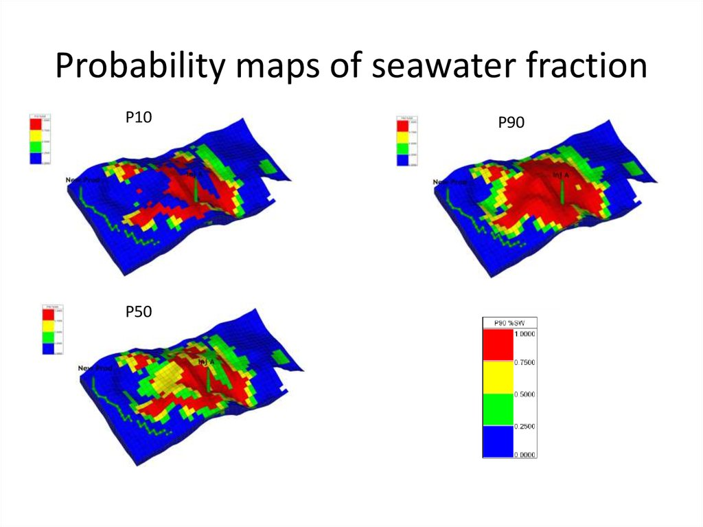 Predicting Seawater fraction in produced water