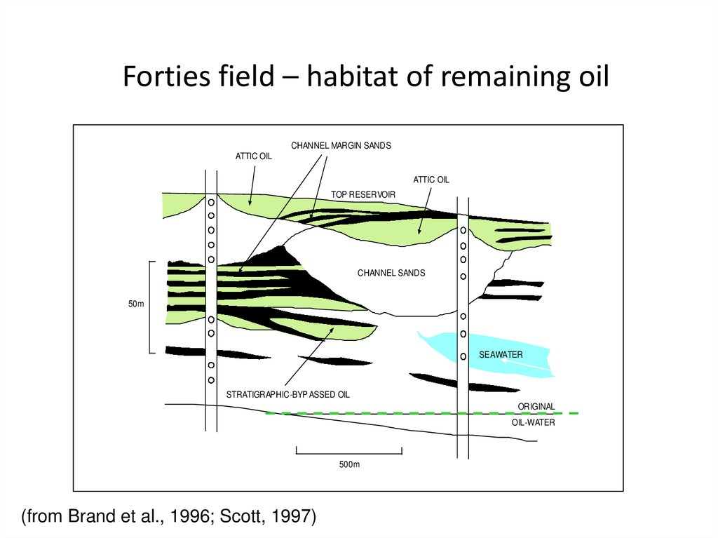 Forties field – habitat of remaining oil