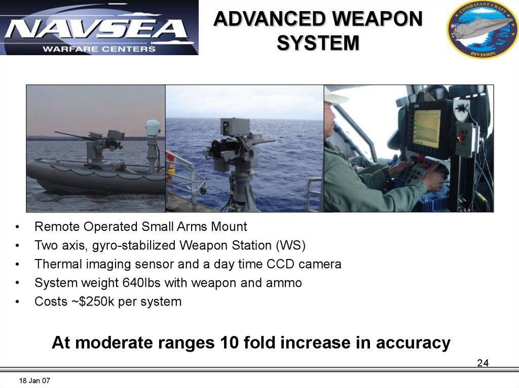 ADVANCED WEAPON SYSTEM