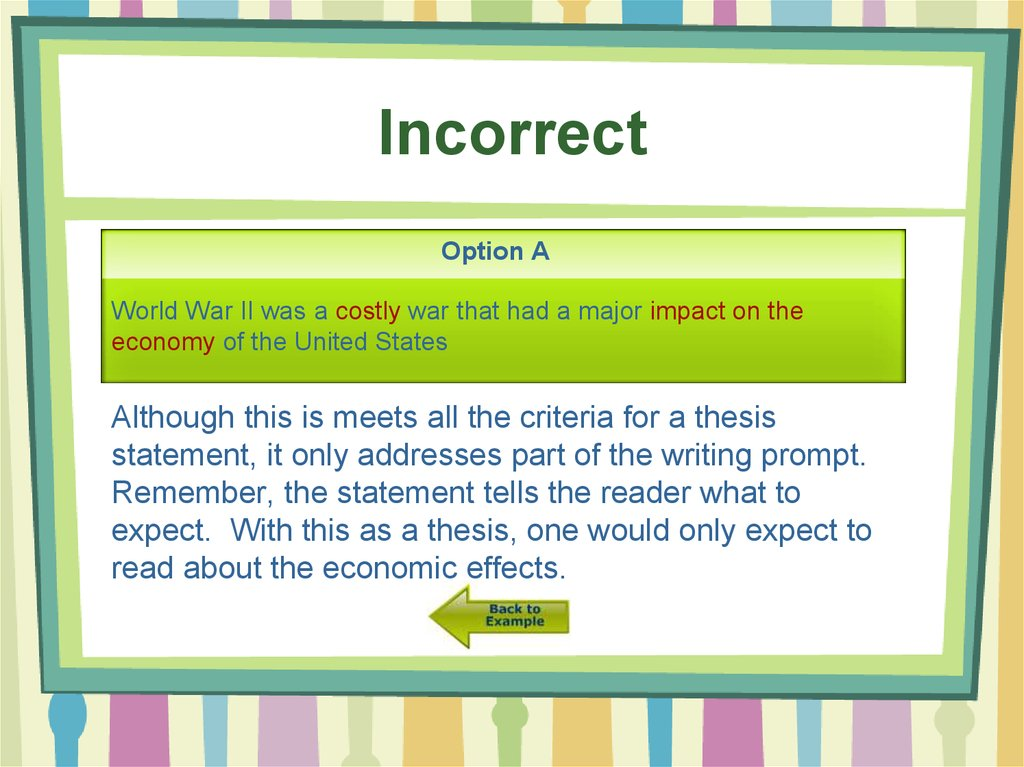 Do my government thesis statement bowling for columbine opinion essay