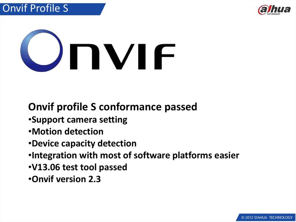 Network camera  Latest firmware feature - online presentation