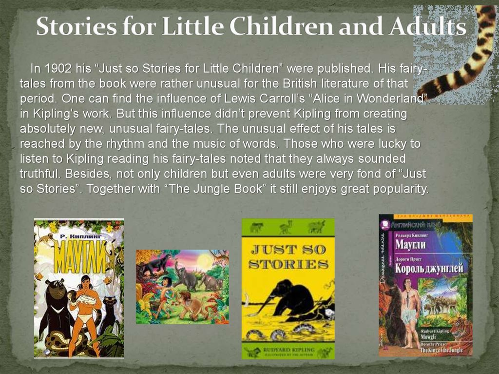 Stories for Little Children and Adults