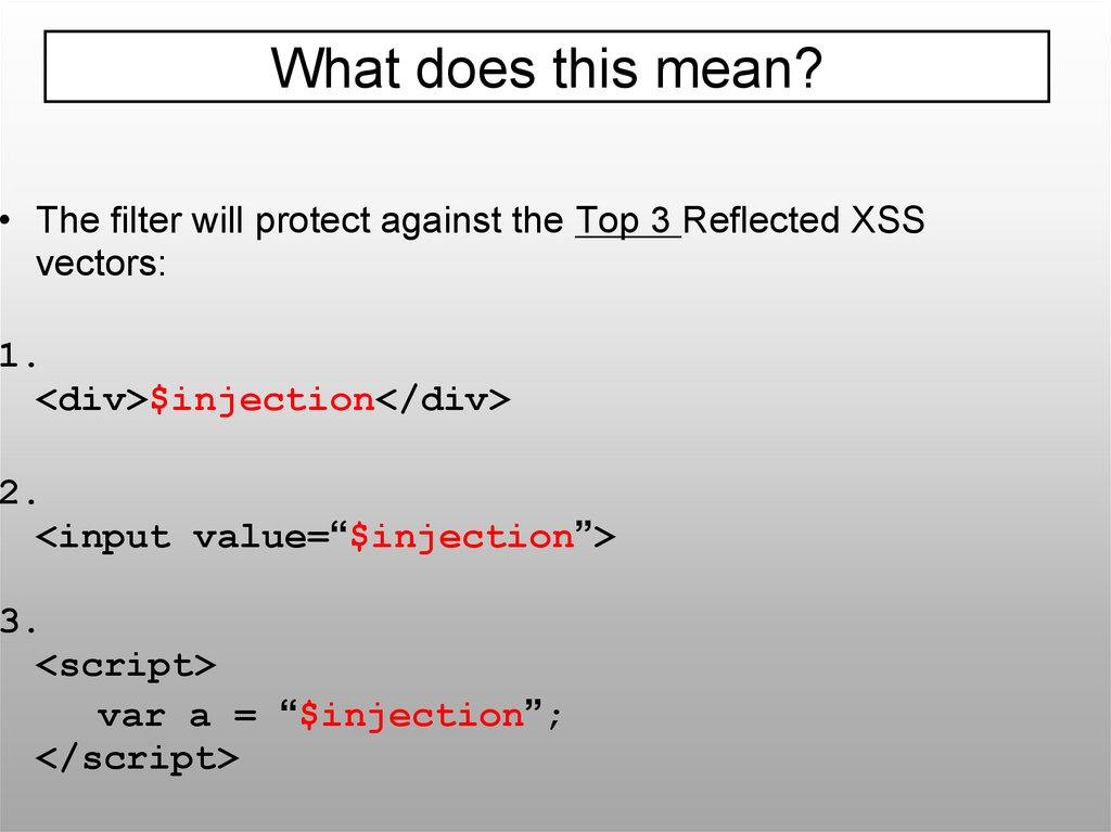 Our Favorite XSS Filters/IDS and how to Attack Them - online