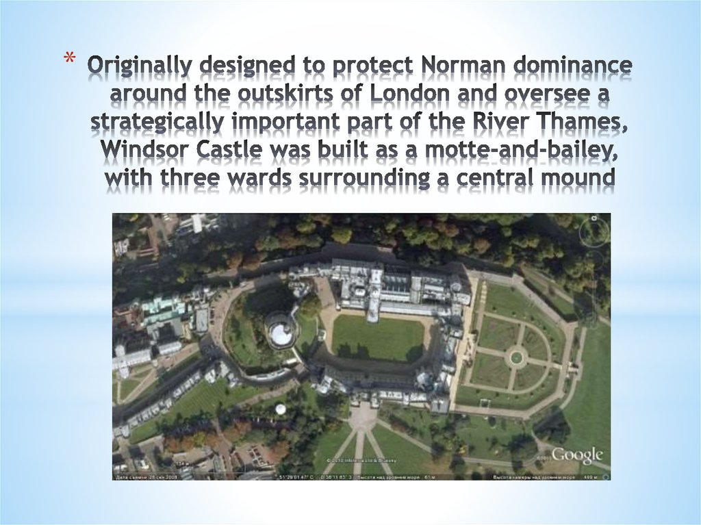 Originally designed to protect Norman dominance around the outskirts of London and oversee a strategically important part of