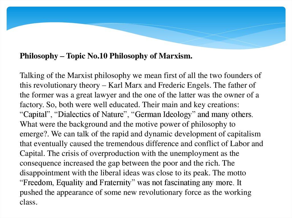 marxist ideology