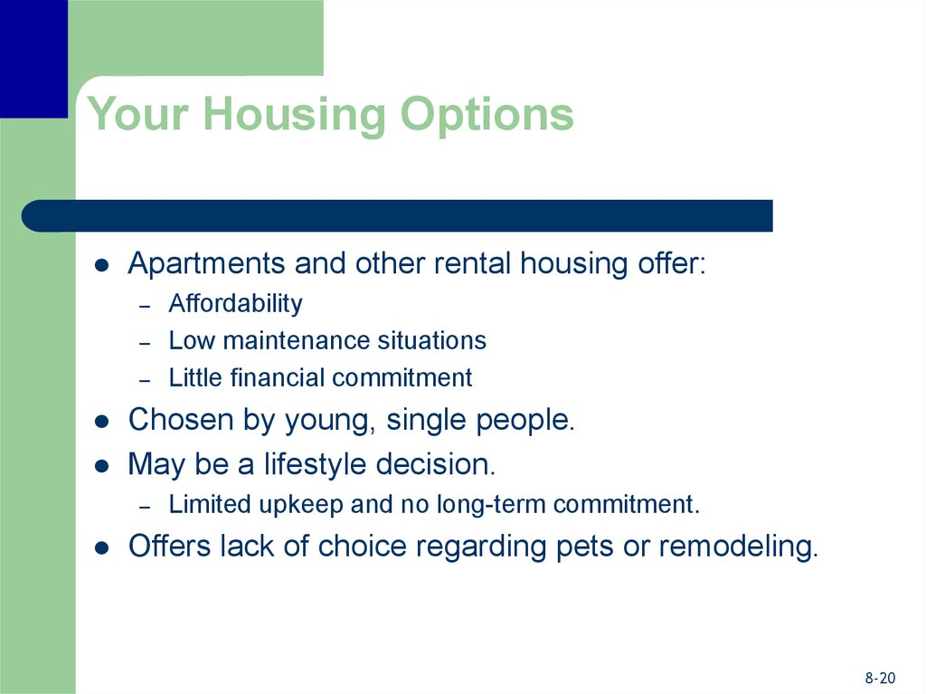 Your Housing Options
