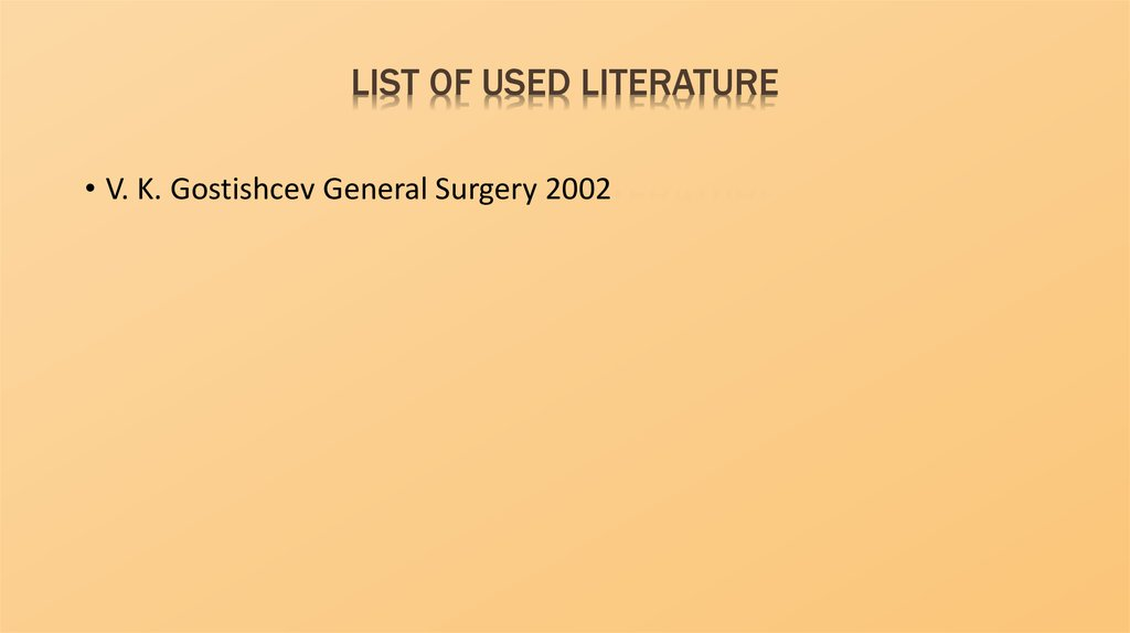 List of used literature