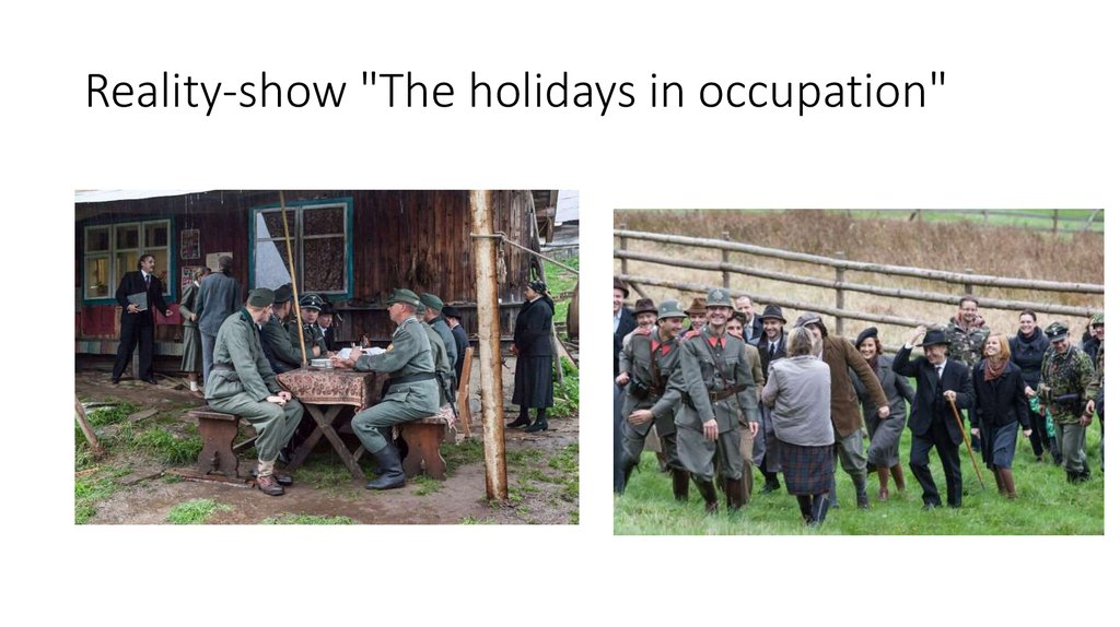 "Reality-show ""The holidays in occupation"""
