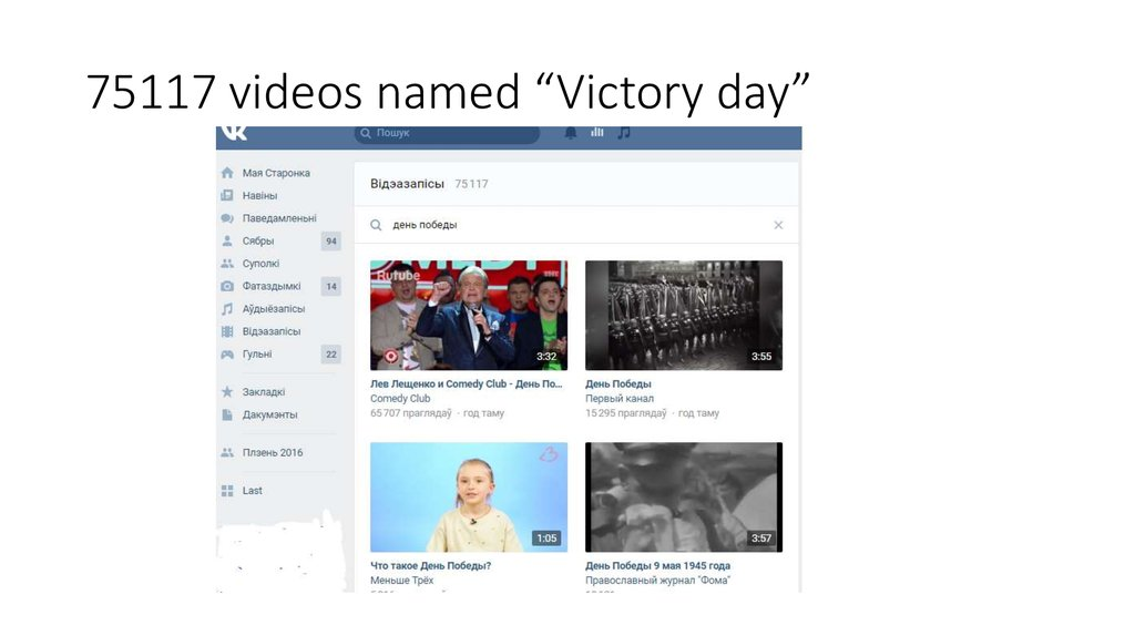 "75117 videos named ""Victory day"""