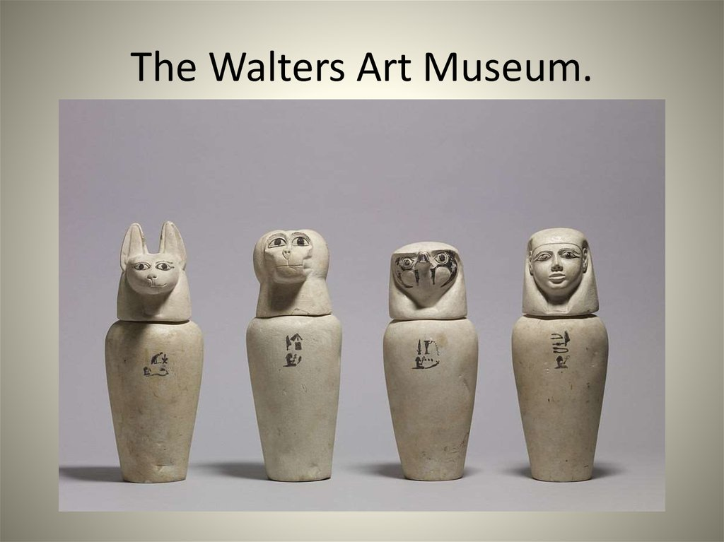 The Walters Art Museum.