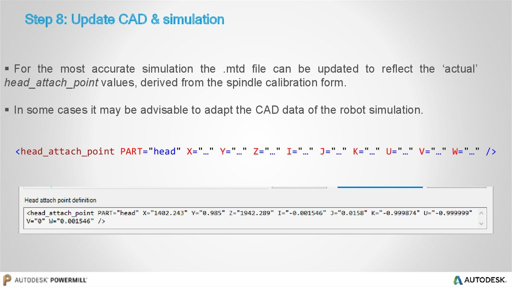 Step 8: Update CAD & simulation