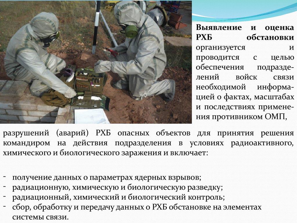 Химическая, биологическая и ядерная разведка