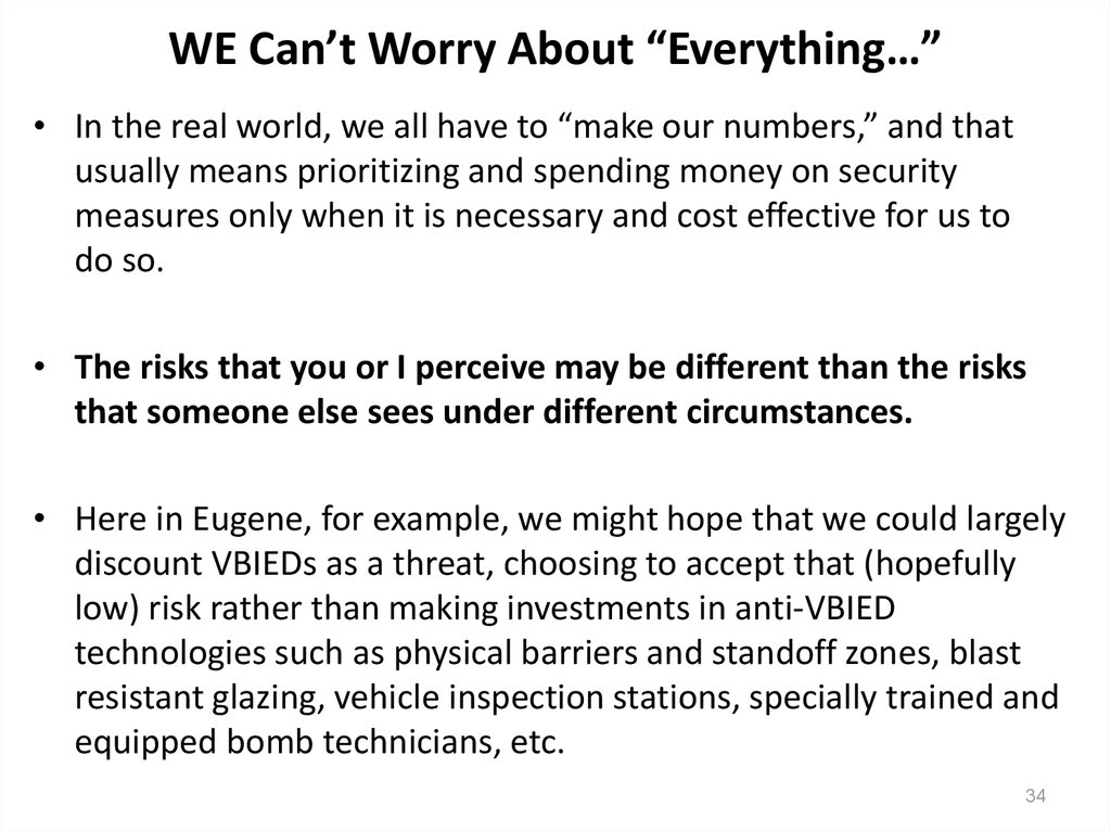 "WE Can't Worry About ""Everything…"""