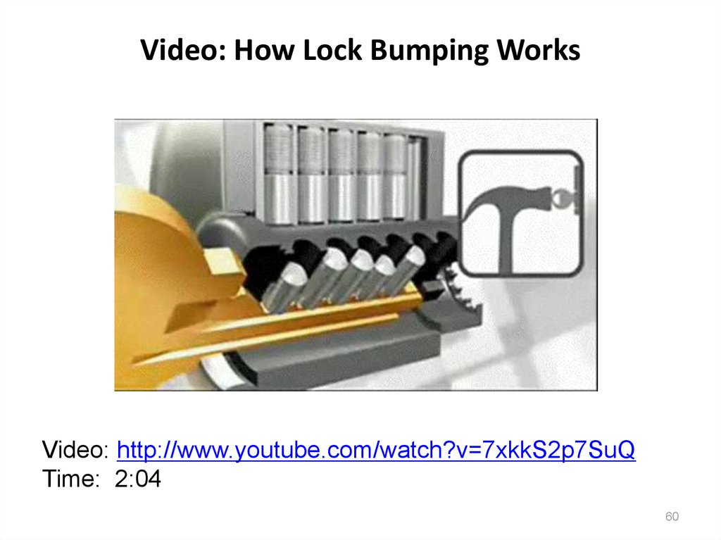 Video: How Lock Bumping Works