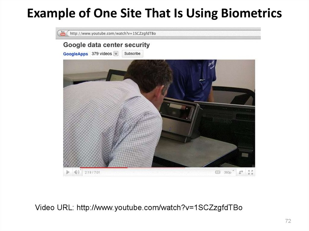 Example of One Site That Is Using Biometrics