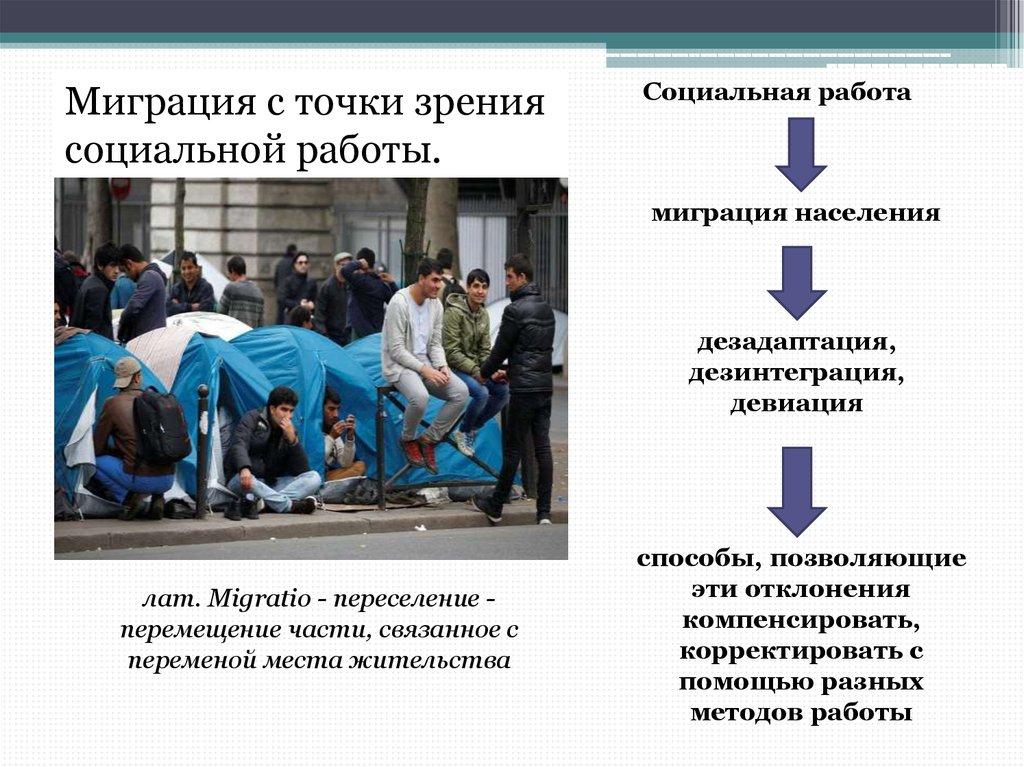 девушка модель социальной работы с мигрантами