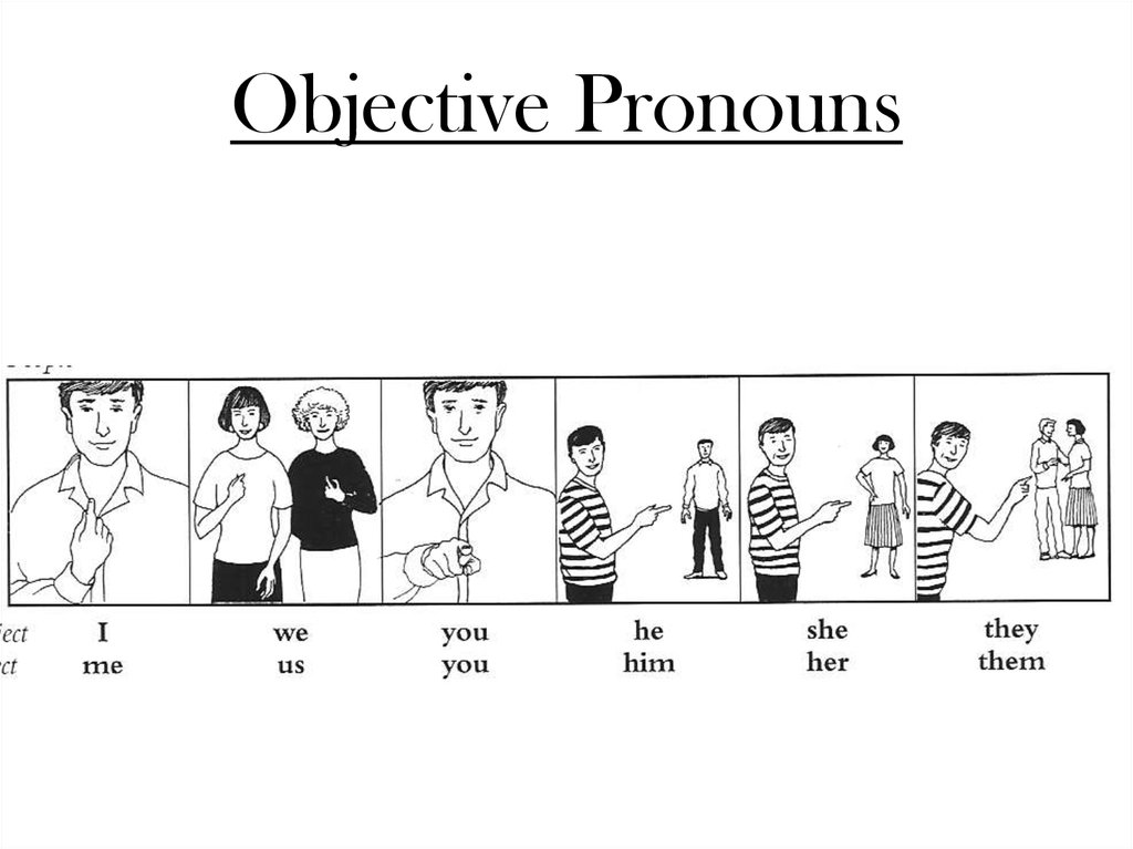 Objective Pronouns