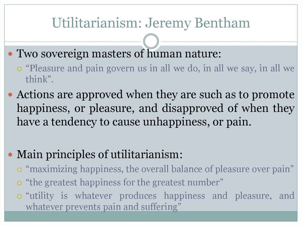 "utilitarianism greatest happiness principle essay The concept of utilitarianism essay ""utilitarianism,"" he establishes the base of his argument by explaining the greatest happiness principle:."