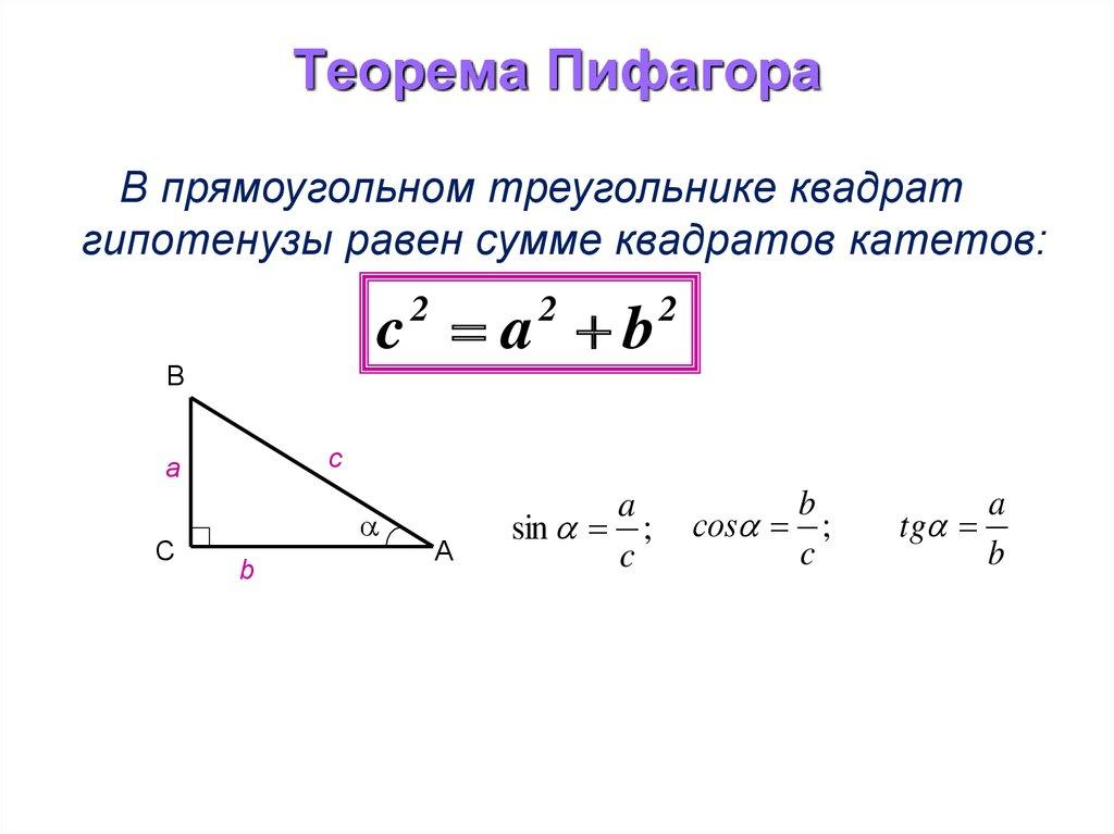 других теорема пифагора с картинками дачу хорошем