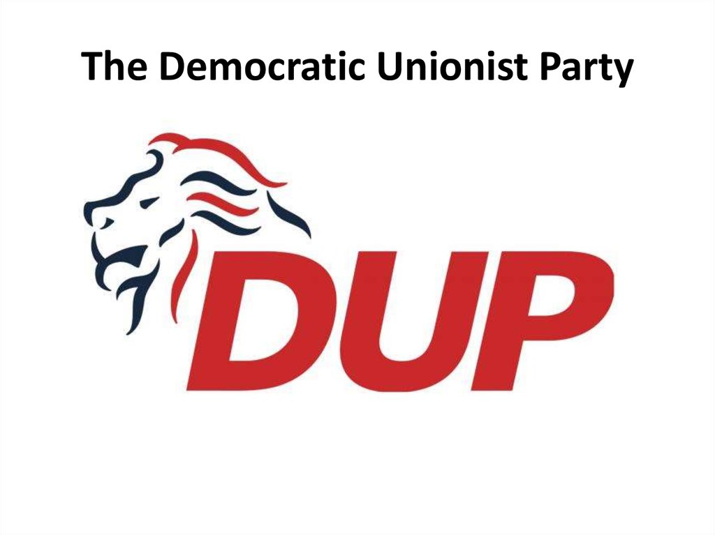 The Democratic Unionist Party