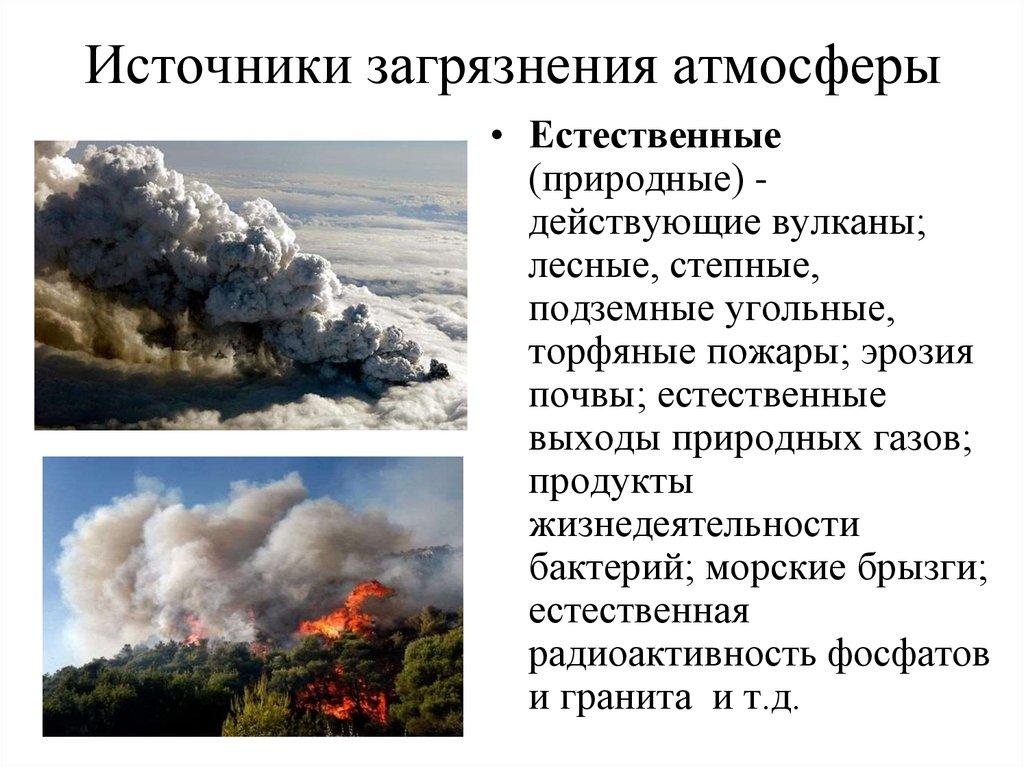 Загрязнение атмосферы и его источники картинки