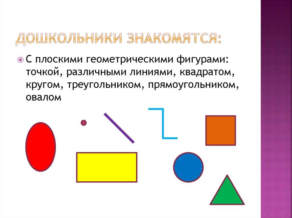 знакомство с прямоугольником в начальной школе