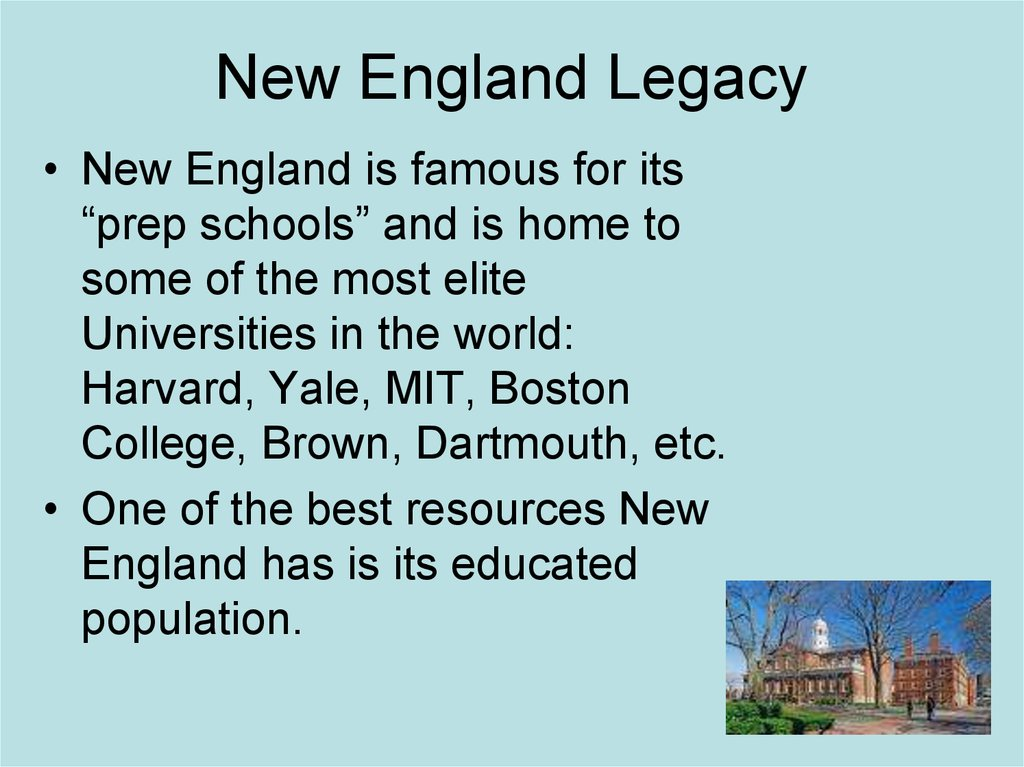 New England Legacy