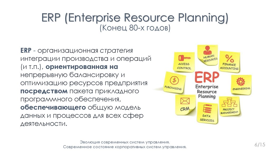 an overview of the function and effects of enterprise resource planning erp Enterprise resource planning (erp) systems are software packages that use relational database technology to integrate various units of an organization's information system.