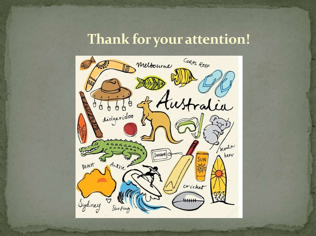 National Symbols Of Australia Online Presentation