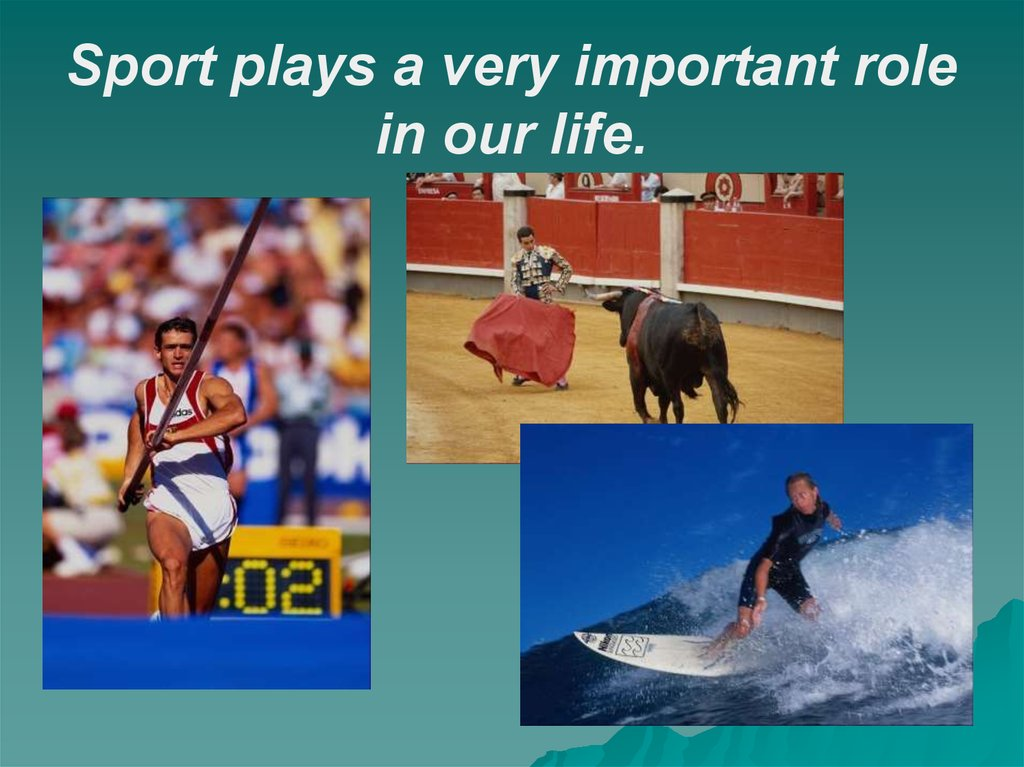 Essay on importance of sports in our life