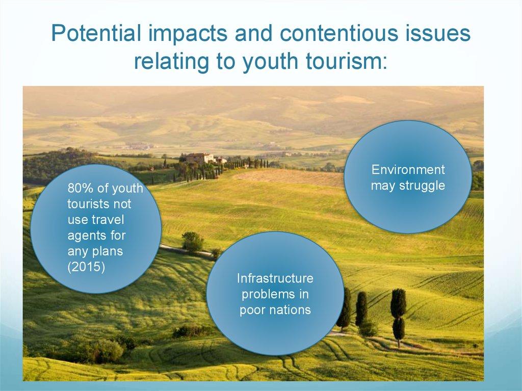 youth tourism largest segment of global Youth travel and backpacking introduction over recent decades the youth tourism market has been a major growth segment within international tourism according to world tourism organisation (wto) estimates, the proportion of all international tourism trips undertaken by young travellers grew from 146% in 1980 to 20% in 2001 and the share is.