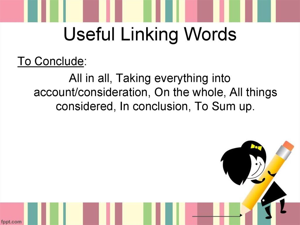 Useful Linking Words