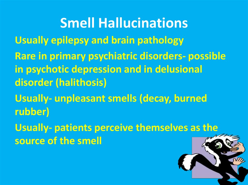 Smell Hallucinations