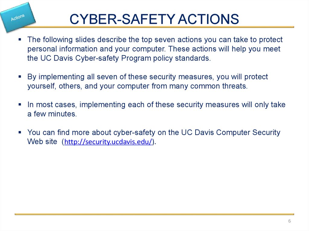 Cyber Safety Basics Online Presentation