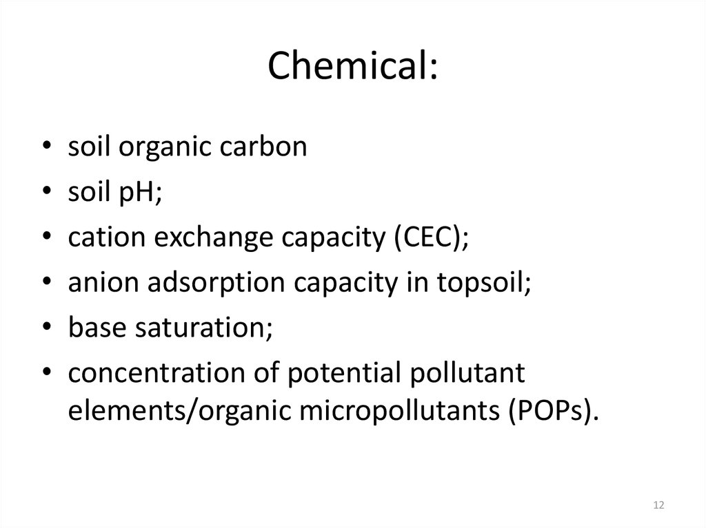 Chemical: