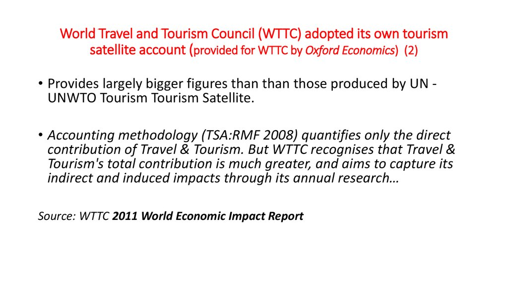 wttc produces an annual review of travel tourism