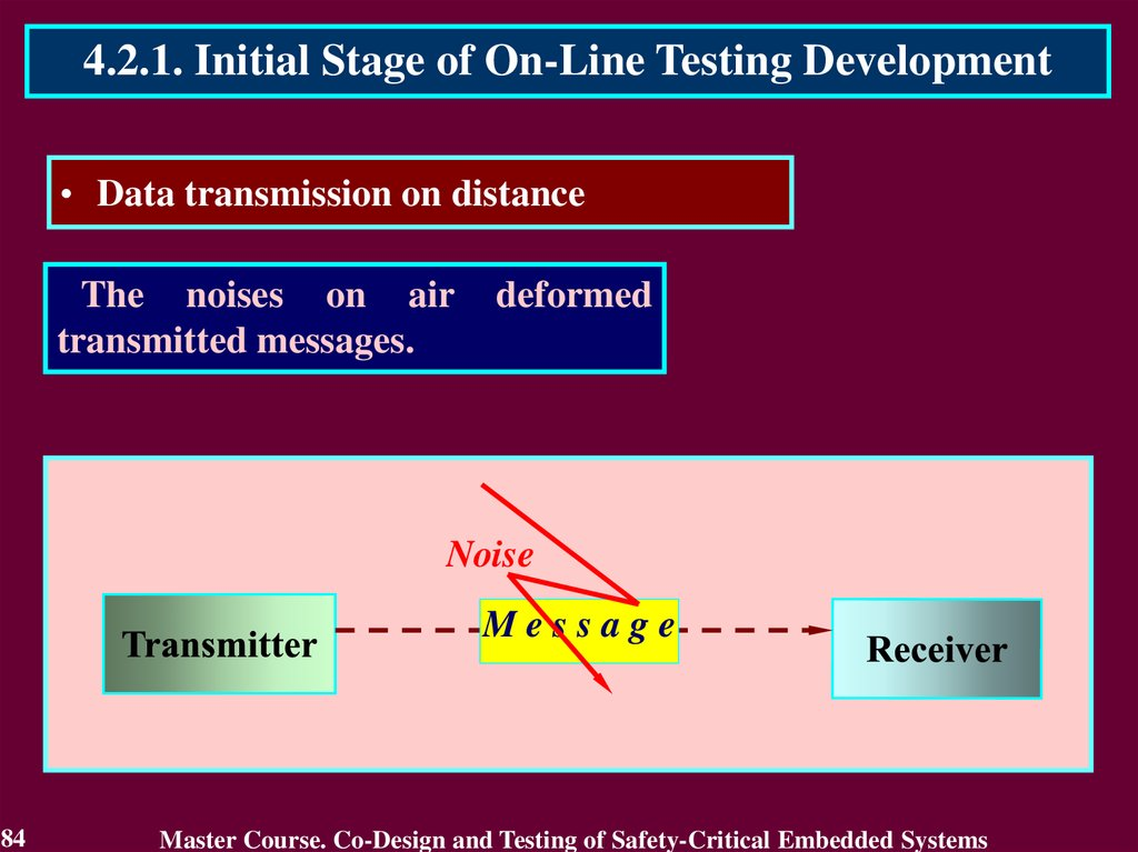 Co-design and testing of safety-critical embedded systems