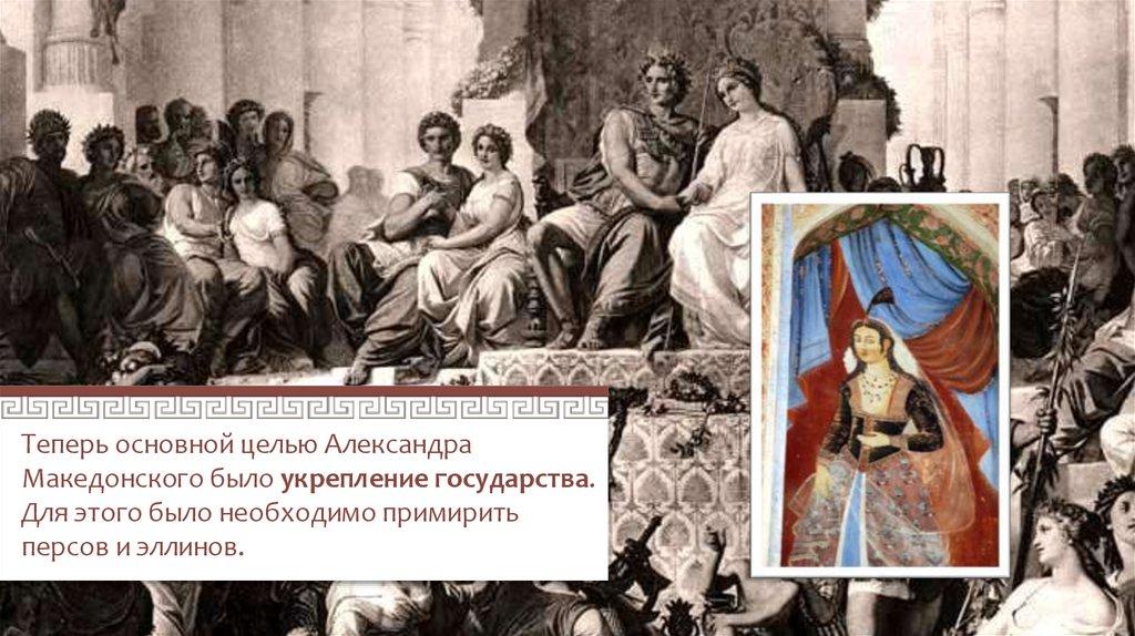 Походы Александра Македонского - online presentation