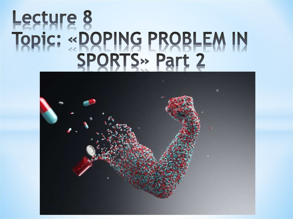 "doping in sports is a problem essay The students from agurain have written some opinion essays on doping doping in sports: opinion essays students talk about the problem ""doping."