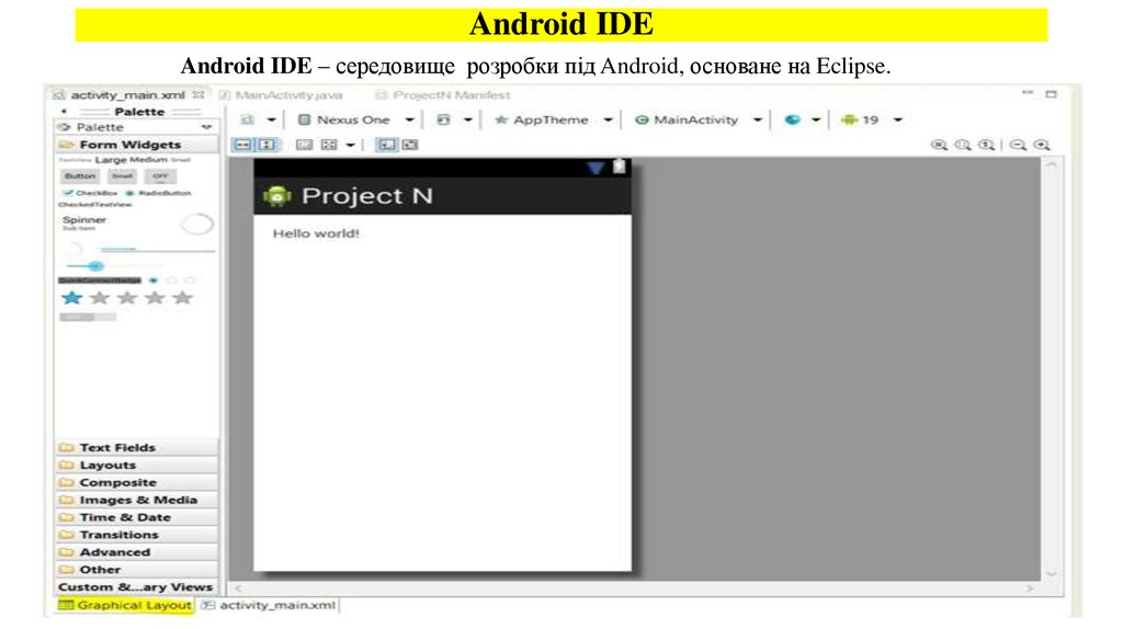 Android IDE