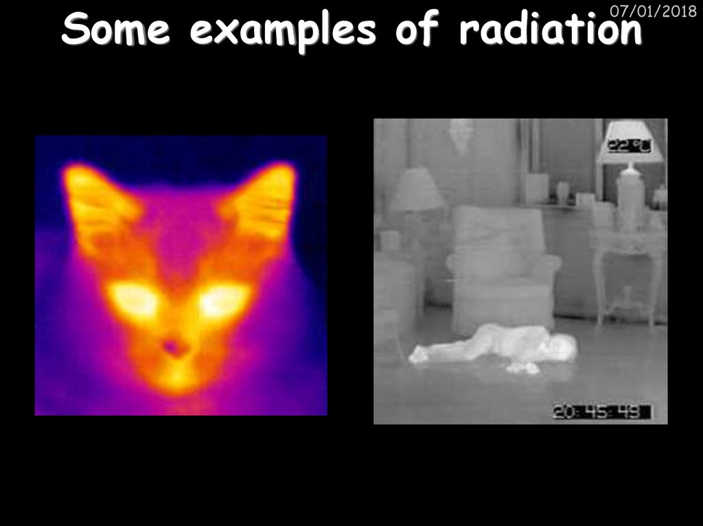 Some examples of radiation